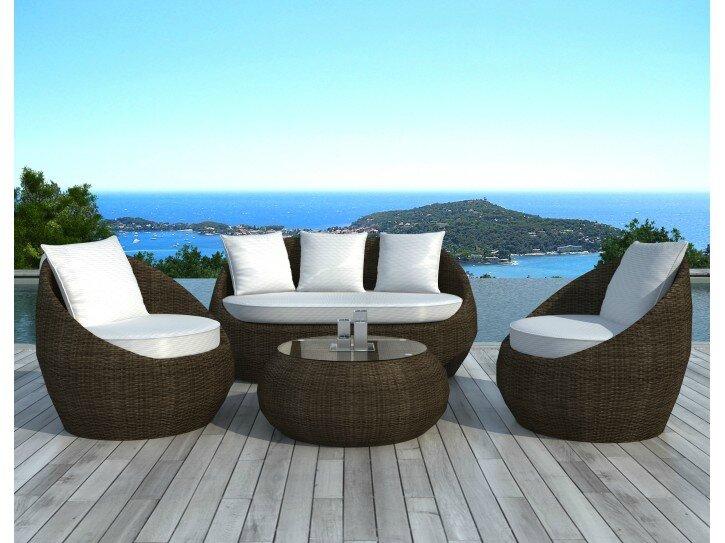 Toutes les tendances de cet t pour le mobilier piscine for Salon resine tressee ikea