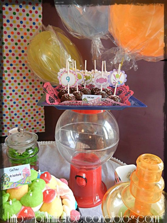 cake pops candyland prunillefee