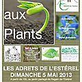 Dimanche 5 mai : bourse aux plants aux adrets