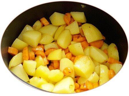 sauté pommes de terre et saucisson à l'ail5