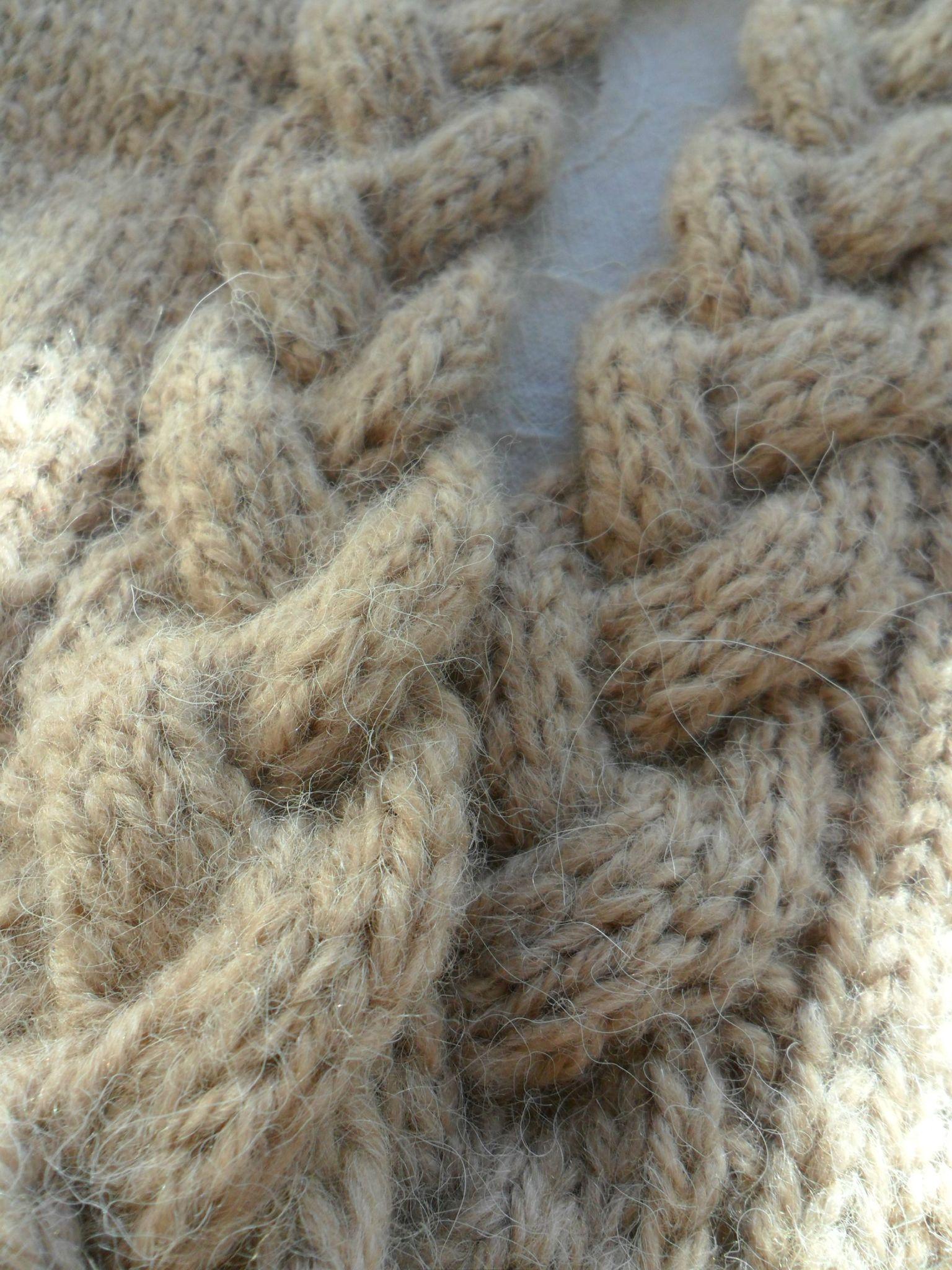 Le tricot c 39 est branch les bricoles du grenier - Comment faire des torsades au tricot ...