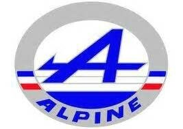 ALPINE LOGO ALBERT