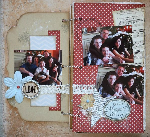 Mini album Scrapbox dcembre 2