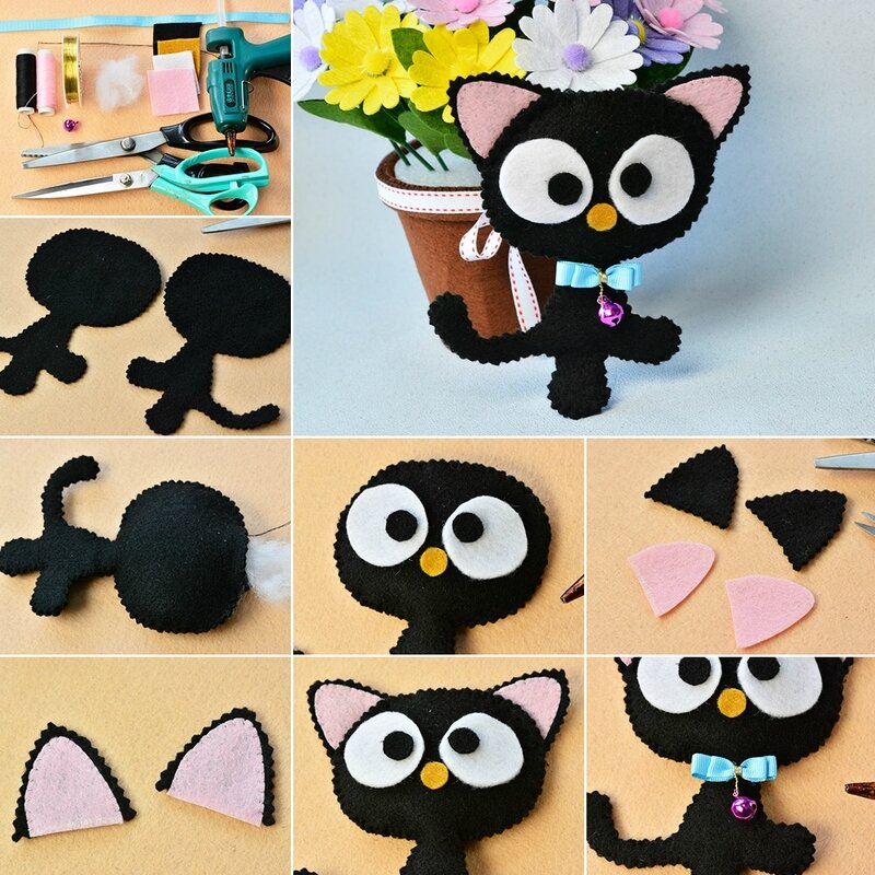 1080-Easy-Felt-Craft--How-to-Make-Cute-Felt-Cat-for-Kids