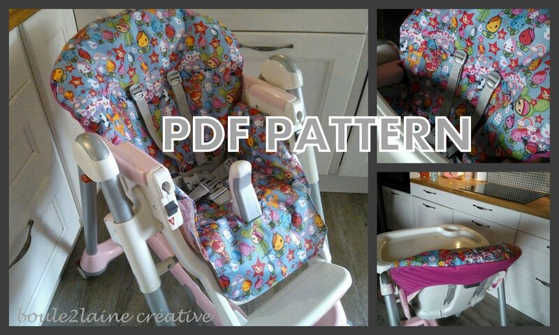 boule2laine pdf high chair cover