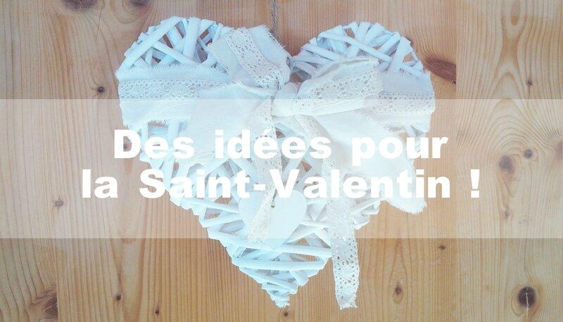 Inspiration Saint Valentin