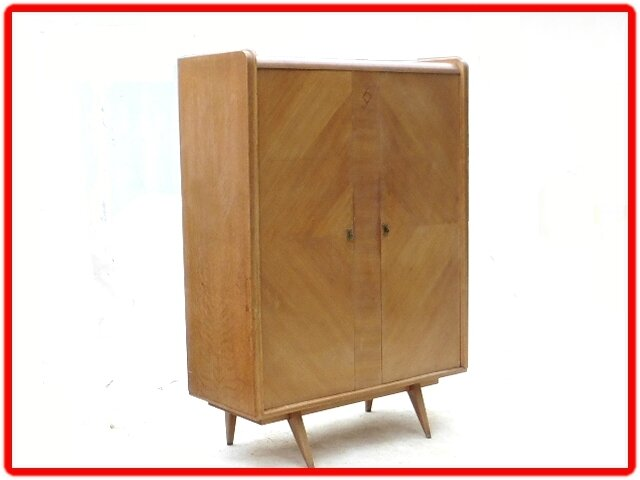 armoire penderie dressing vintage retro 1950 vendu meubles d co vintage design scandinave. Black Bedroom Furniture Sets. Home Design Ideas