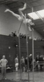 Pole Vault - Indoor training