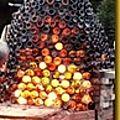 Les 16 et 17 décembre on met le feu !!! four bouteille pour illuminer la nuit. ateliers gratuits pour tous. exposition vente