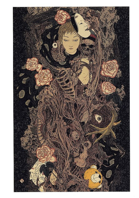 CanalBlog Artbook Takato Yamamoto Divertimento For A Martyr006