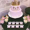 La préparation d'une sweet table princesse by cakeconcept