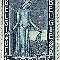 Première série d'Orval, au profit du Fonds de reconstruction de l'abbaye Duchesse Mathilde bleu 1