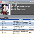 Myself world tour dvd: jolin ranks #4 on g-music & #9 on 5music!