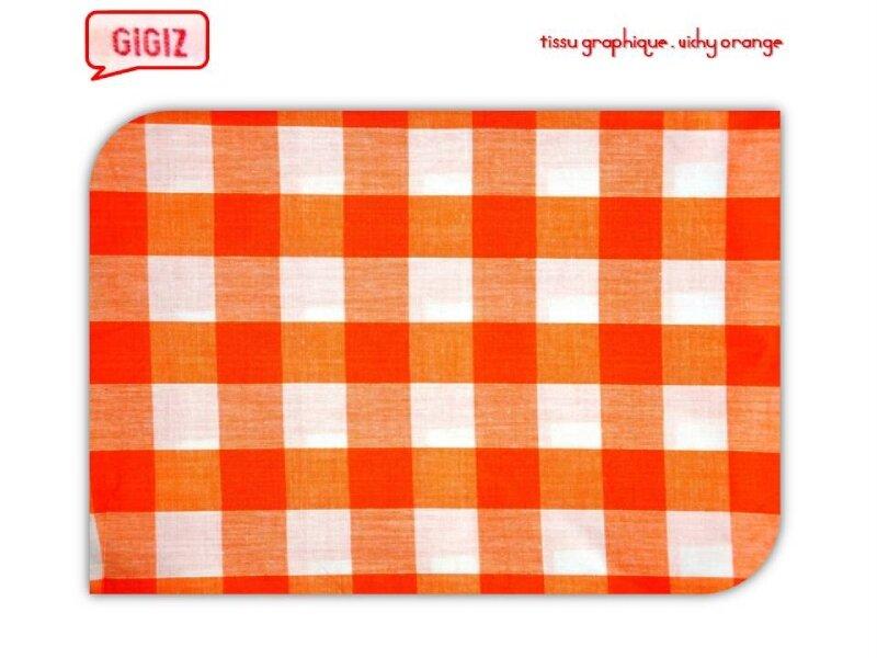 GIGIZ_tissus_08_graphic vichy orange