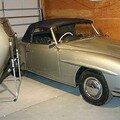 MERCEDES - 190 sl - 1957
