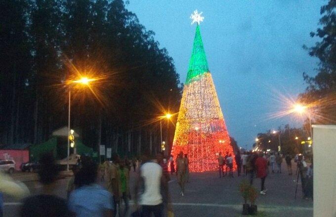 le marché de Noel du ministere du tourisme