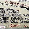 Samedi 14/06 : festival de la zic