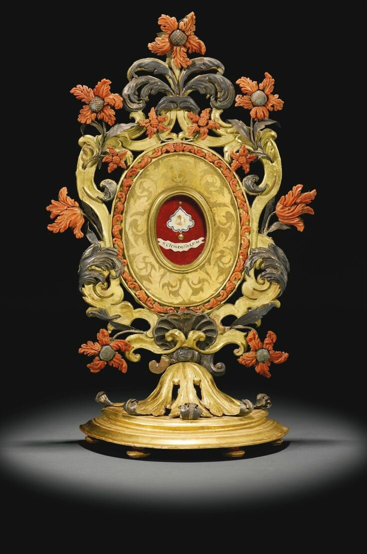 Italian, probably Trapani, late 17th century, Reliquary
