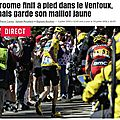 Froome froome !