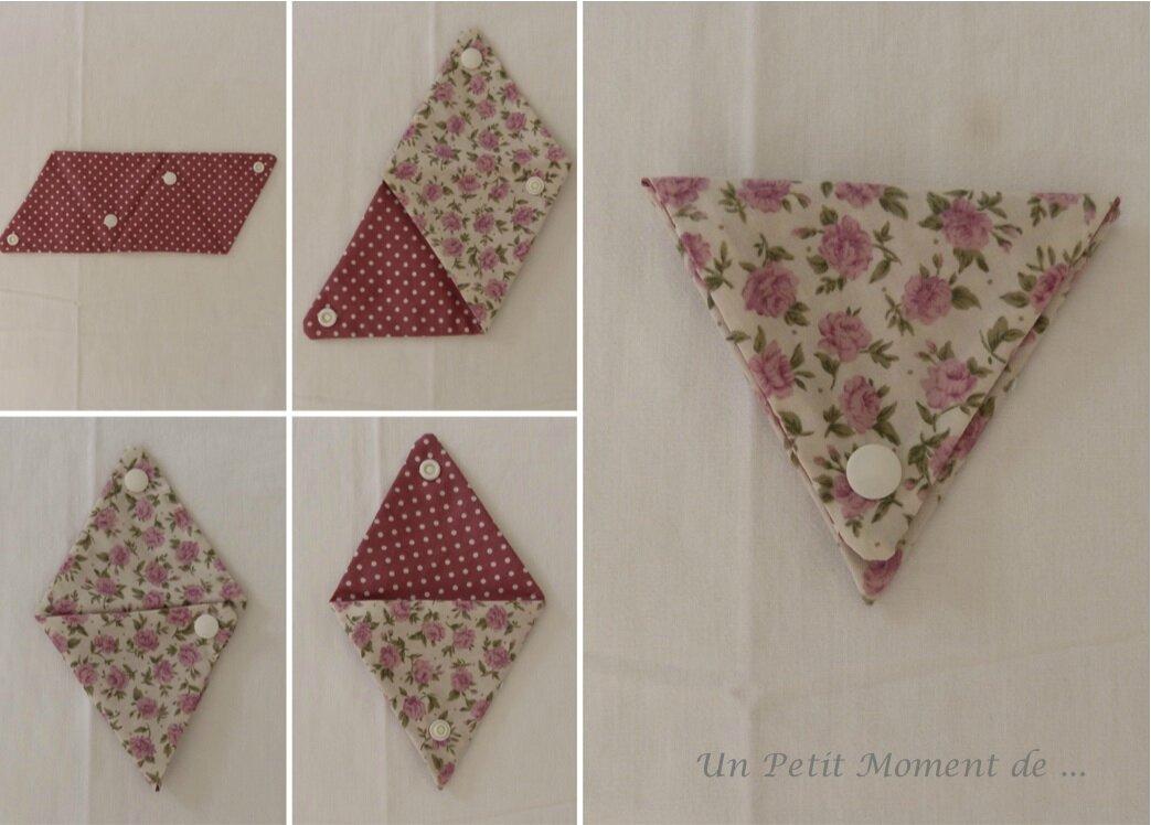 Pochettes en triangle 3