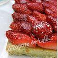Voici une recette de tarte aux fraises