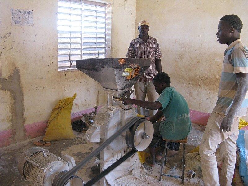 Production de la farine MISOLA