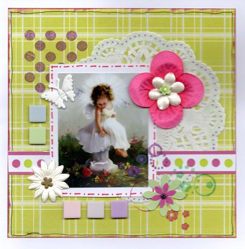 petite fille ange blanc454