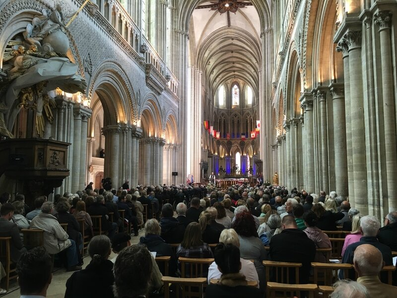 DDAY Bayeux 6 juin 2017 cathédrale cathedral