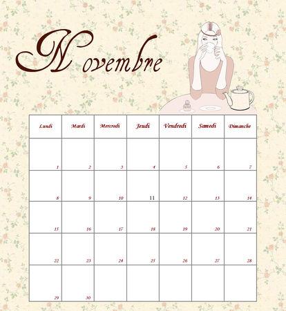 November_cal