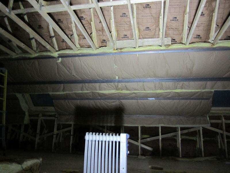travaux isolation toiture 2 me couche projet maison. Black Bedroom Furniture Sets. Home Design Ideas