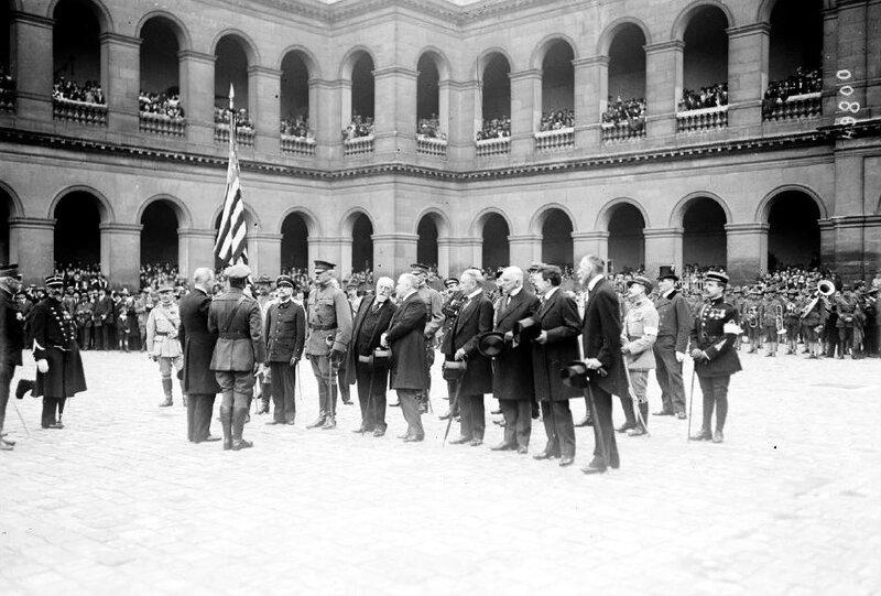 Indépandence Day Invalides 1917
