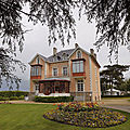Childhood home of designer Christian Dior in Granville, Normandy, France