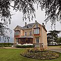 Childhood home of designer christian dior in granville, normandy, france