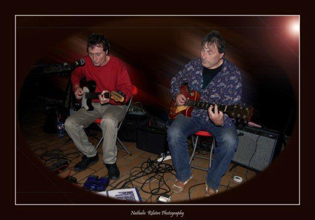 Photo Denis Cook et Phil Dezh-Blues Power