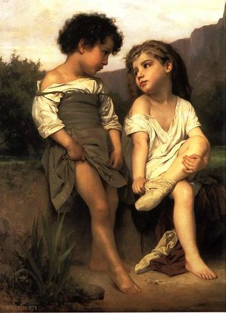 433px-William-Adolphe_Bouguereau_(1825-1905)_-_At_the_Edge_of_the_Brook_(1879)