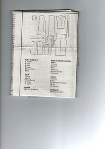 See & Sew - Modele n°B4896