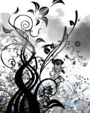 fleur-noire