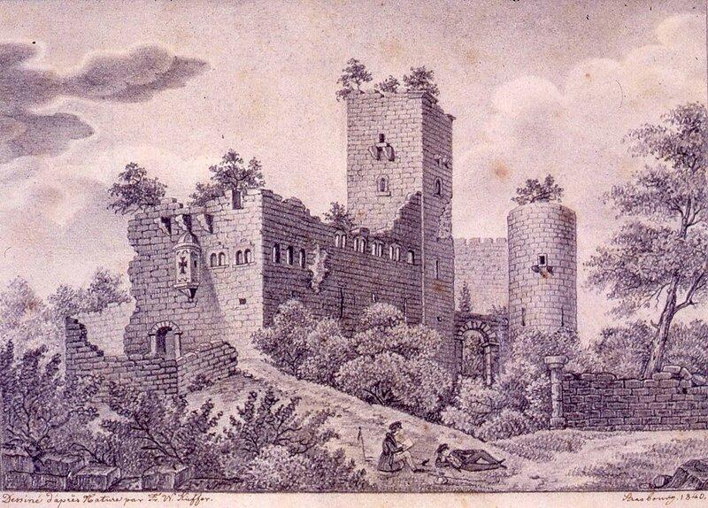 Chateau_de_Landsberg_Kieffer_1841