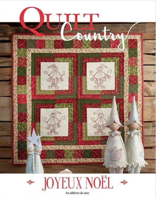 quilt country joyeux noel 6