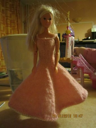 robe barbie 1