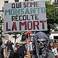 Paris marche contre monsanto