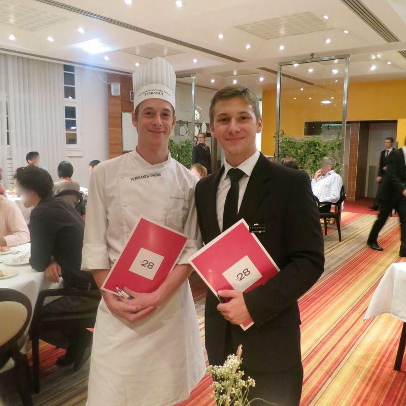 Le 28 restaurant d 39 application de l 39 cole ferrandi - Ecole de cuisine ferrandi paris restaurant ...