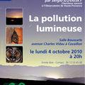 La pollution lumineuse : conférence débat