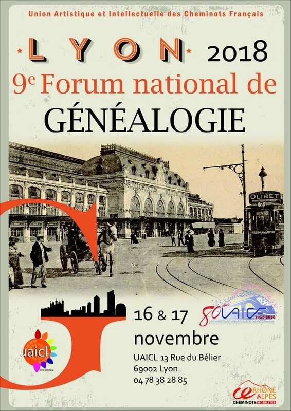 2018 FORUM GENEALOGIE 16 nov