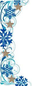 R veillon du nouvel an en bleu et argent recettes et d coration - Deco reveillon nouvel an ...