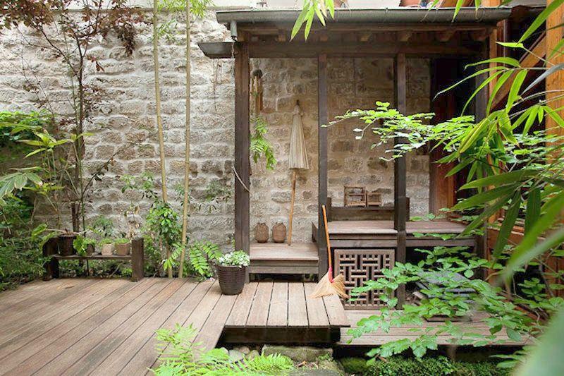 Le jardin fa ade balcon el 39 lef bien for Piscine urbaine le jardin de catherine