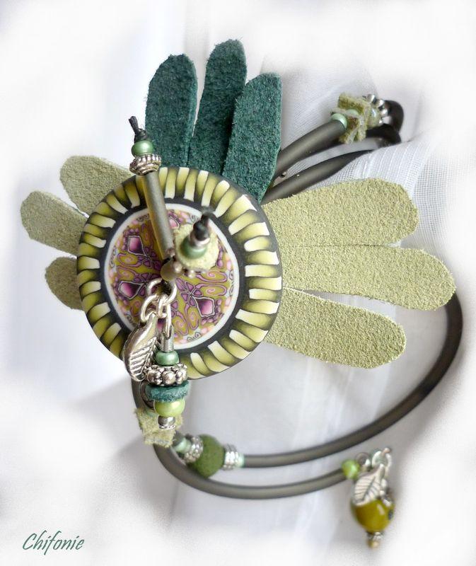 bracelet_fleur_ailee_verte