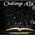 Challenge abc de l'imaginaire 2016