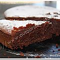 Brownies aux noix du Prigord (version allge)