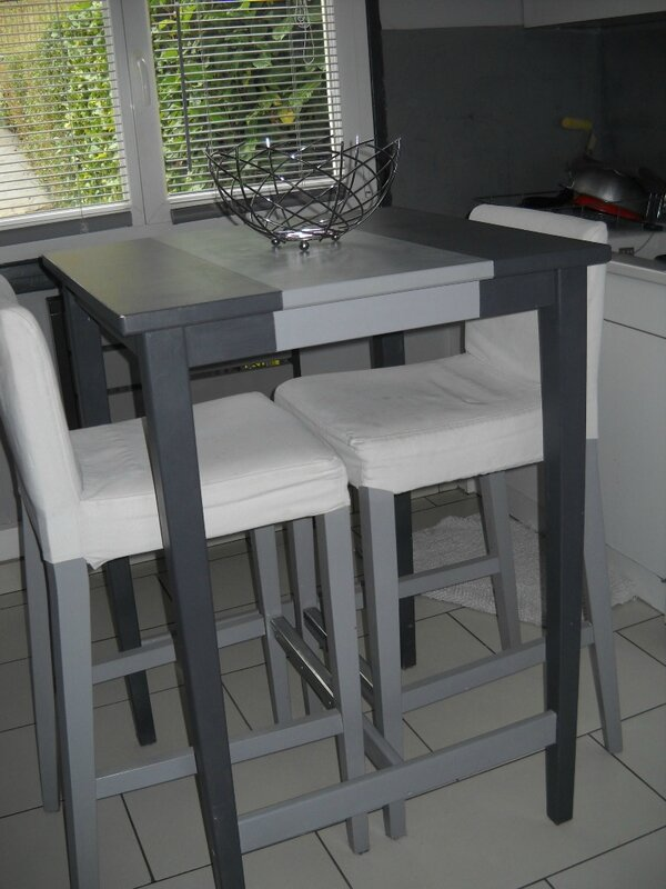 Mobilier table ikea table haute cuisine for Cuisine 3d sketchup